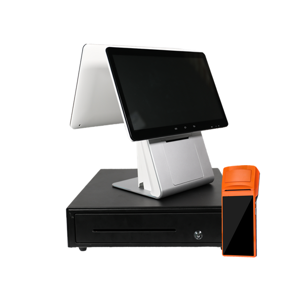 Dual Screen Android Point-of-Sale (POS)  +Handheld POS